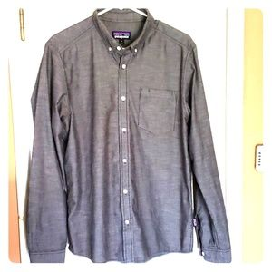 Long Sleeve Button Up Patagonia Shirt